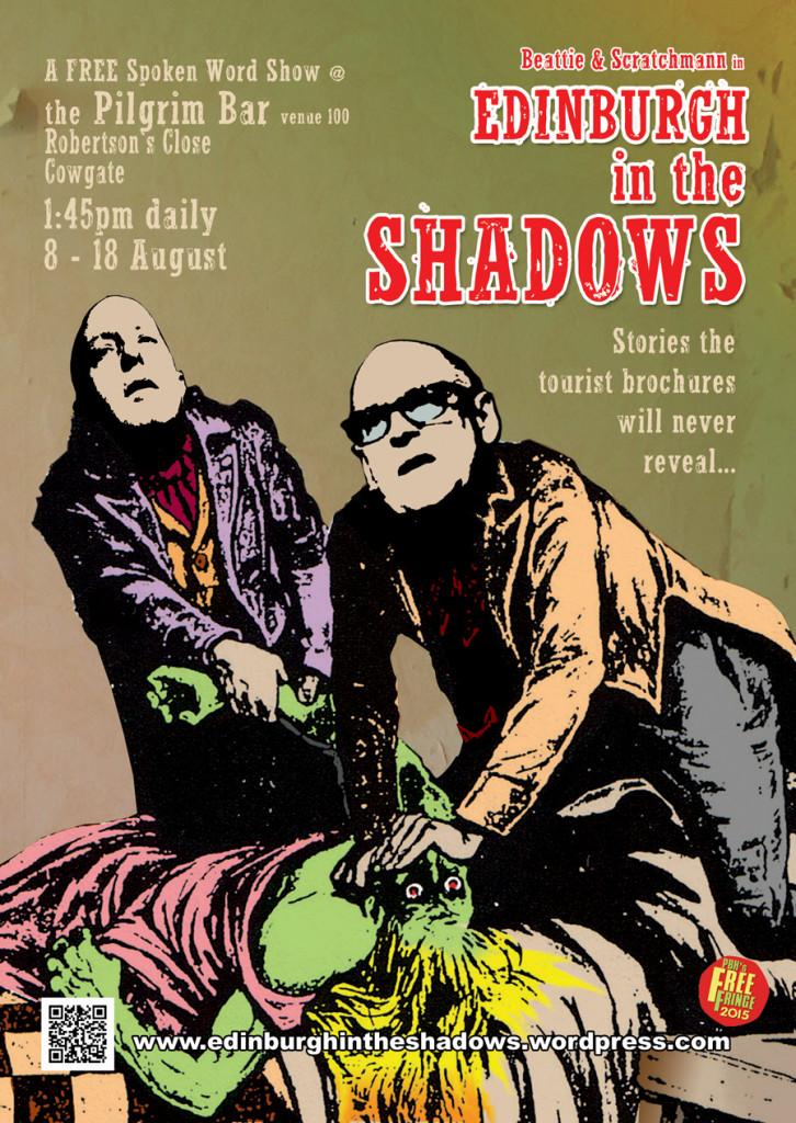 Edinburgh in the Shadows - Max Scratchmann